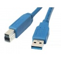 Câble USB 3.0 Male A-B 2m