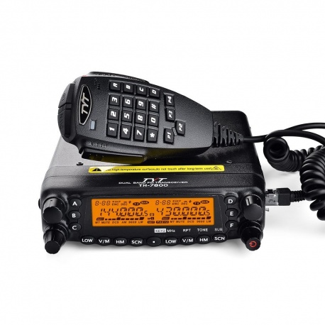 Mobile FM Bi-bande 50W TH-7800 + RX AM Aviation TYT Mobile VHF UHF TYT-TH-7800-387