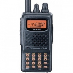YAESU FT-60E VHF-UHF 2m/70cm FM + scanner + bande aviation