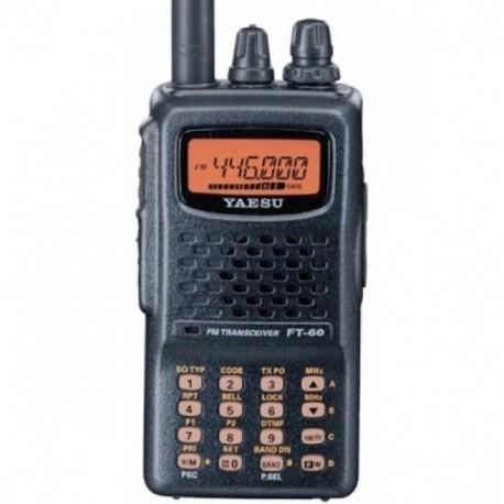 YAESU FT-60E VHF-UHF 2m/70cm FM + scanner + bande aviation YAESU Talkie-Walkie YAESU-FT-60E-396
