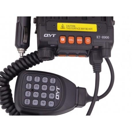 Mini-Mobile 144-430Mhz QYT KT-8900 25W