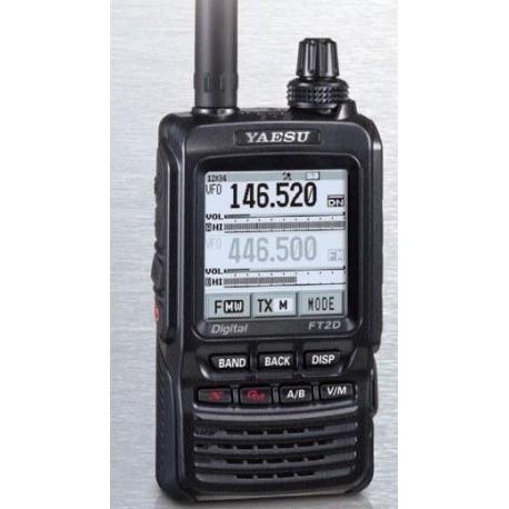 FT2DE VHF/UHF C4FM FM GPS + scanner
