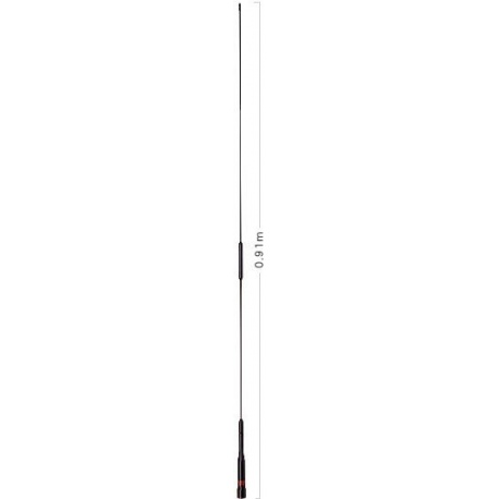 Antenne voiture 144-430Mhz AZ510 Diamond Slim Gainer