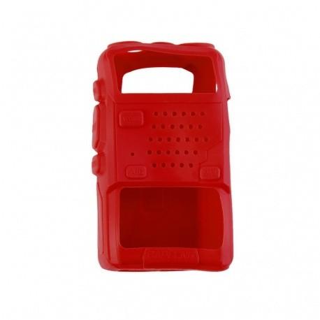 Etui souple protection pour Baofeng UV5R Baofeng Etui talkie-walkie ETUI-BAOFENG-UV5R-ROUGE-2403