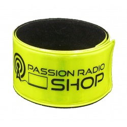 Polo piqué bleu Passion Radio Shop
