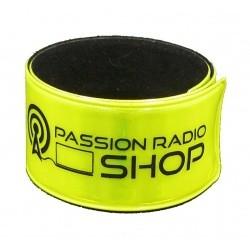 Brassard enrouleur réfléchissant Passion Radio. Passion Radio Goodies GOODIES-BRACELET-492