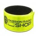 Polo piqué bleu Passion Radio Shop