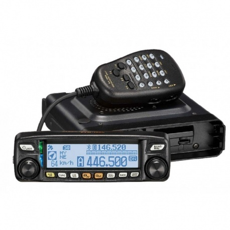 Mobile VHF-UHF FM C4FM YAESU FTM-100DE 50W