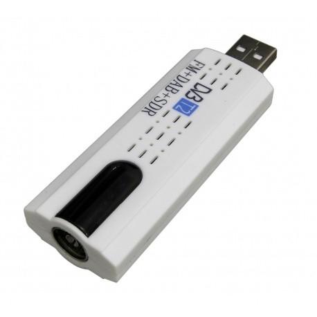 Clé USB récepteur TV TNT HD DVB-T2 & DAB Passion Radio Clés RTL-SDR DONGLE-TNT3-COMPLET-424