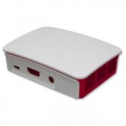 Boitier officiel pour Raspberry Pi 3 Modèle B & B+ Raspberry Pi Boitiers BOITIER-RASPBERRY-BLANC-70