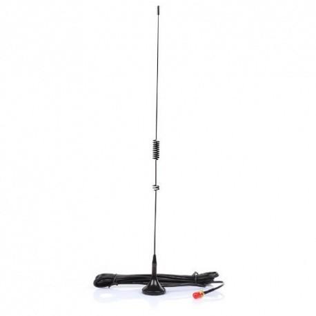 Mini-Antenne magnétique Nagoya 39cm pour scanner VHF-UHF Nagoya Antenna VHF-UHF NAGOYA-UT-106-MALE-533