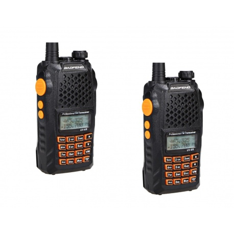 Pack DUO 2 Baofeng UV-6R avec câble USB Baofeng Talkie-Walkie PACK-BAOFENG-START-UV6R-565