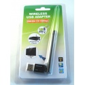 Antenne Dongle WIFI 2 dBi 150Mbps Octagon WL028