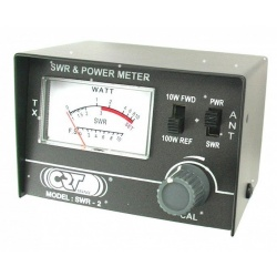 TOSmètre Wattmètre 26-30Mhz 10-100W CRT CRT France SWR-Power meter CRT-SWR2-571