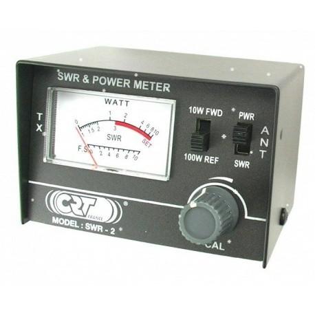 TOSmètre Wattmètre 26-30Mhz 10-100W CRT