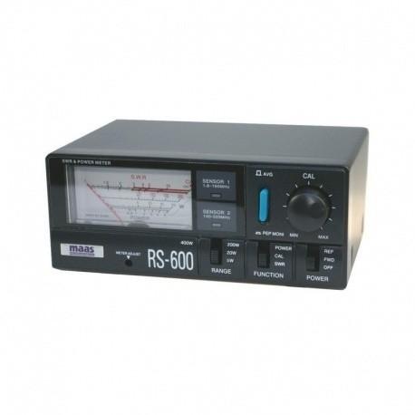 TOSmetre WATTmetre 1.8 - 525Mhz RS-600 MAAS