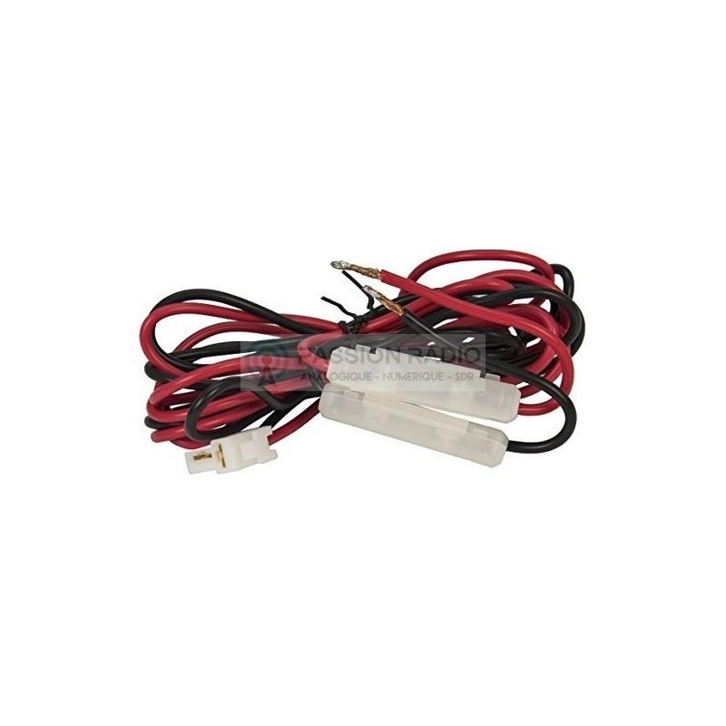 cable alimentation 12v pour tyt md 9600. Black Bedroom Furniture Sets. Home Design Ideas