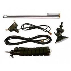 Pack antenne télescopique Dipole pour clé RTL-SDR (SMA et MCX)