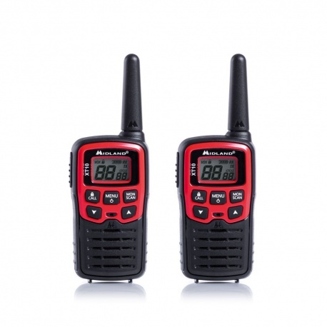 Paire Talkie-Walkie PMR446 8 canaux Midland XT10