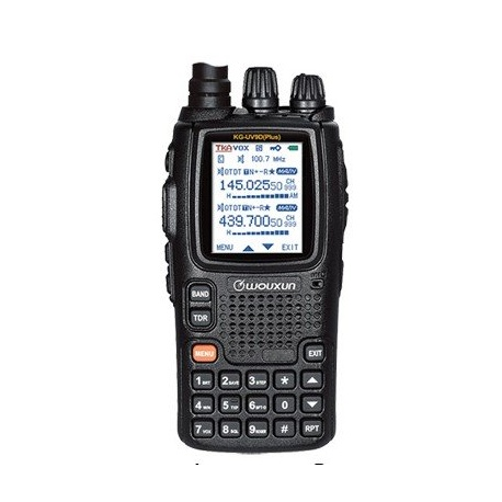 Talkie-Walkie Wouxun KG-UV9D Plus 144/430Mhz 7 bandes RX + Transpondeur