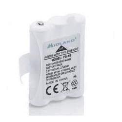 Batterie pour Midland XT50/60 700mAh Ni-Mh Midland France Accessoires Talkie MIDLAND-PB-X6-637