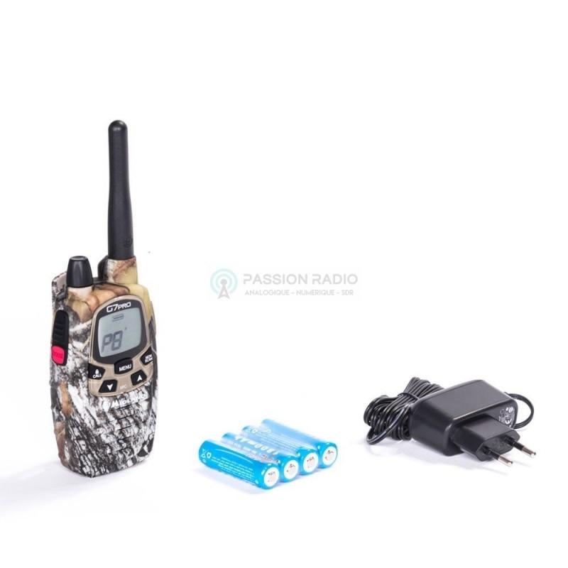 talkie walkie pmr446 lpd midland g7 pro mimetic. Black Bedroom Furniture Sets. Home Design Ideas