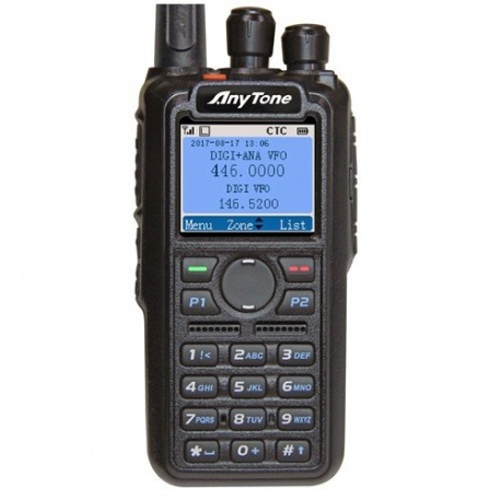 Talkie-Walkie Anytone DMR AT-D868UV V2 144/430Mhz GPS Anytone Radio DMR ANYTONE-D868UV-662