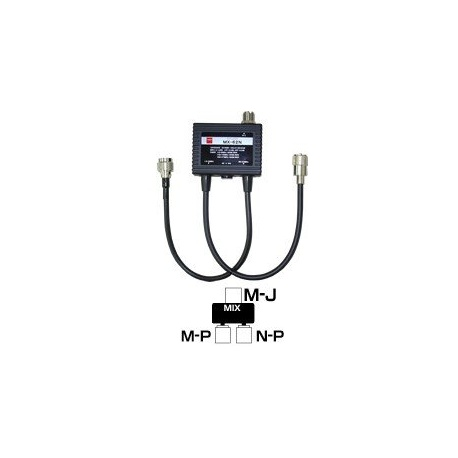 Duplexeur HF+50Mhz et VHF-UHF Diamond MX62-N & MX62-M Diamond Antenna Accessoires DIAMOND-MX62N-612