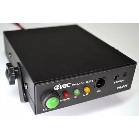 Ampli talkie FM & DMR - VHF ou UHF 25/30W VR-P25D VERO Telecom Radio numérique VGC-VR-P25UD-680