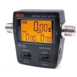 Nissei RS-50 Digital SWR 125 - 525Mhz Wattmètre 120W Nissei SWR-Power meter NISSEI-RS50-702