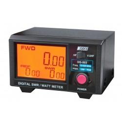 Nissei DG-503 Digital SWR 1.6-60 MHz et 125-525Mhz Nissei SWR-Power meter NISSEI-DG503-704