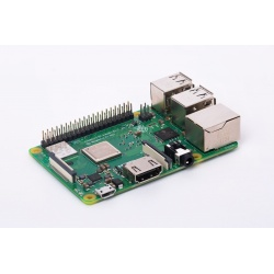 Raspberry Pi 3 B+ PLUS Quad Core 1.4Ghz WiFi bi-bande Bluetooth 1Go