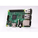 Raspberry Pi 3 B/B+ Quad Core 1.4Ghz WiFi bi-bande Bluetooth 1Go