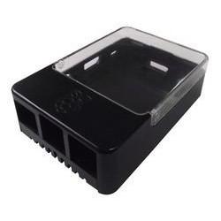 Boitier noir pour Raspberry Pi 1, 2 & 3 Modèle B/B+ Raspberry Pi Boitiers BOITIER-RASPBERRY-NOIR-524