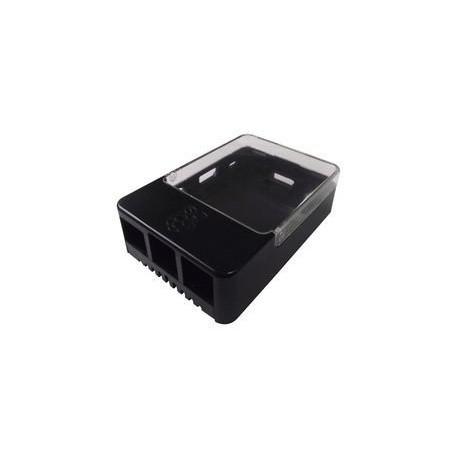 Boitier noir pour Raspberry Pi 1, 2 & 3 Modèle B/B+