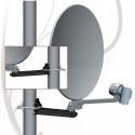 Antenne satellite parabole 35cm portable/camping + valise