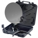 Antenne satellite parabole 35cm portable/camping + valise
