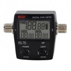 Nissei RS-70 Digital SWR 1.6-60 MHz Wattmètre 120W Nissei SWR-Power meter NISSEI-RS70-703
