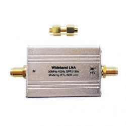 Préampli LNA large bande 50-4000Mhz RTL-SDR