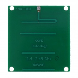 Antenne PCB 2400-2450 MHz Yagi 5 éléments