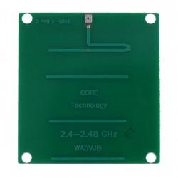Antenne PCB 2400-2450 MHz Yagi 5 éléments Kent Electronics Antennes WIFI WA5-ANT-YAGI-2400-768