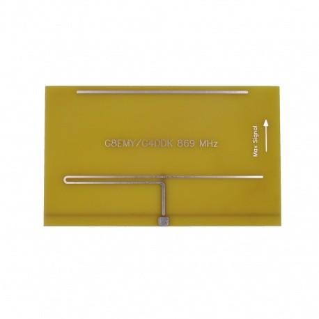 Antenne PCB 868 MHz Yagi pour LoRa SigFox