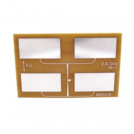 Antenne Quad Patch 2400-2480Mhz WIFI Kent Electronics WiFi 2.4 & 5 Ghz WA5-ANT-QUAD-PATCH-2400-772