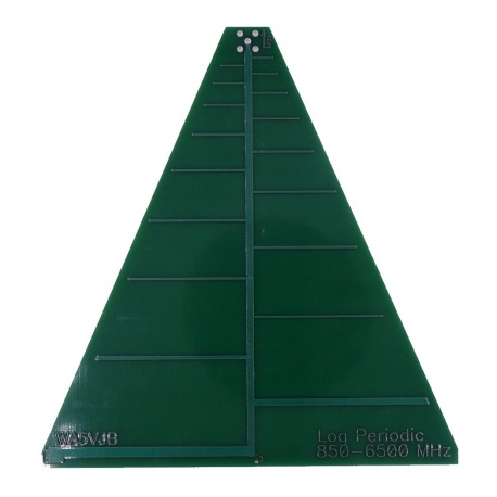 Antenne PCB Log 850 - 6500 MHz WA5JVB Kent Electronics Antennes SDR WA5-ANT-LOG-LP6500-775