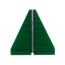 Antenne Log PCB 2-11GHz 6dBi WA5JVB Kent Electronics SHF WA5-ANT-LOG-LP11-776