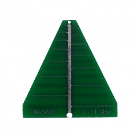 Antenne Log PCB 2-11GHz 6dBi WA5JVB