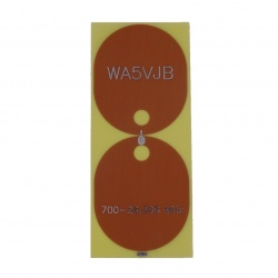 Antenne planaire discone 700Mhz - 26 Ghz WA5JVB
