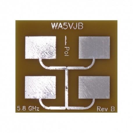 Antenne Quad Patch Wifi 5G 5800Mhz 12dBi Kent Electronics WiFi 2.4 & 5 Ghz WA5-ANT-PATCH4-5800-783