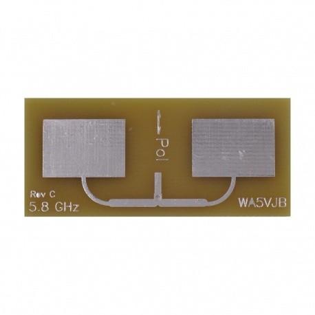 Antenne Double Patch Wifi 5G 5800Mhz 9dBi Kent Electronics WiFi 2.4 & 5 Ghz WA5-ANT-PATCH2-5800-784