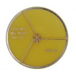 Antenne  WA5  PCB de type Big Wheel pour 1290 MHz avec un